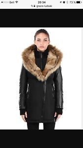 Rudsak Grace model winter coat