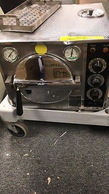 Pelton And Crane Autoclave Omni-clave Ocm Dental Sterilizer 7958