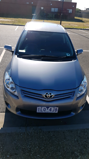 Toyota corolla hatchback 2010. Comes with rego and RWC