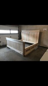 Hand Crafted California Kingsize Bed Frame
