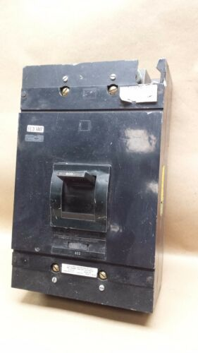 Square D MAL3600036M, 600A, 3 pole Circuit Breaker  #4060