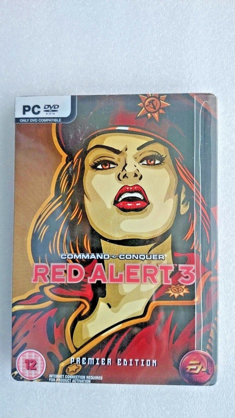 Command & Conquer: Red Alert 3 (PC: Windows, 2008) - Premier Metal Cover Edition