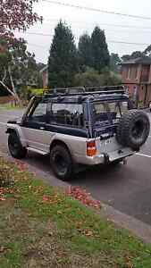 Nissan Patrol GQ  SWB Shorty TD42 Manual Vermont Whitehorse Area Preview