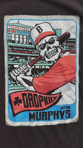 2011 Dropkick Murphys T Shirt Live at Fenway Park XL Boston Band Red Sox