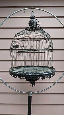 VINTAGE Metal  BIRD CAGE HENDRYX
