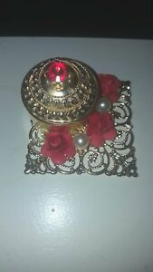 "Little 2"" by 2"" trinket set beautifully decorated"