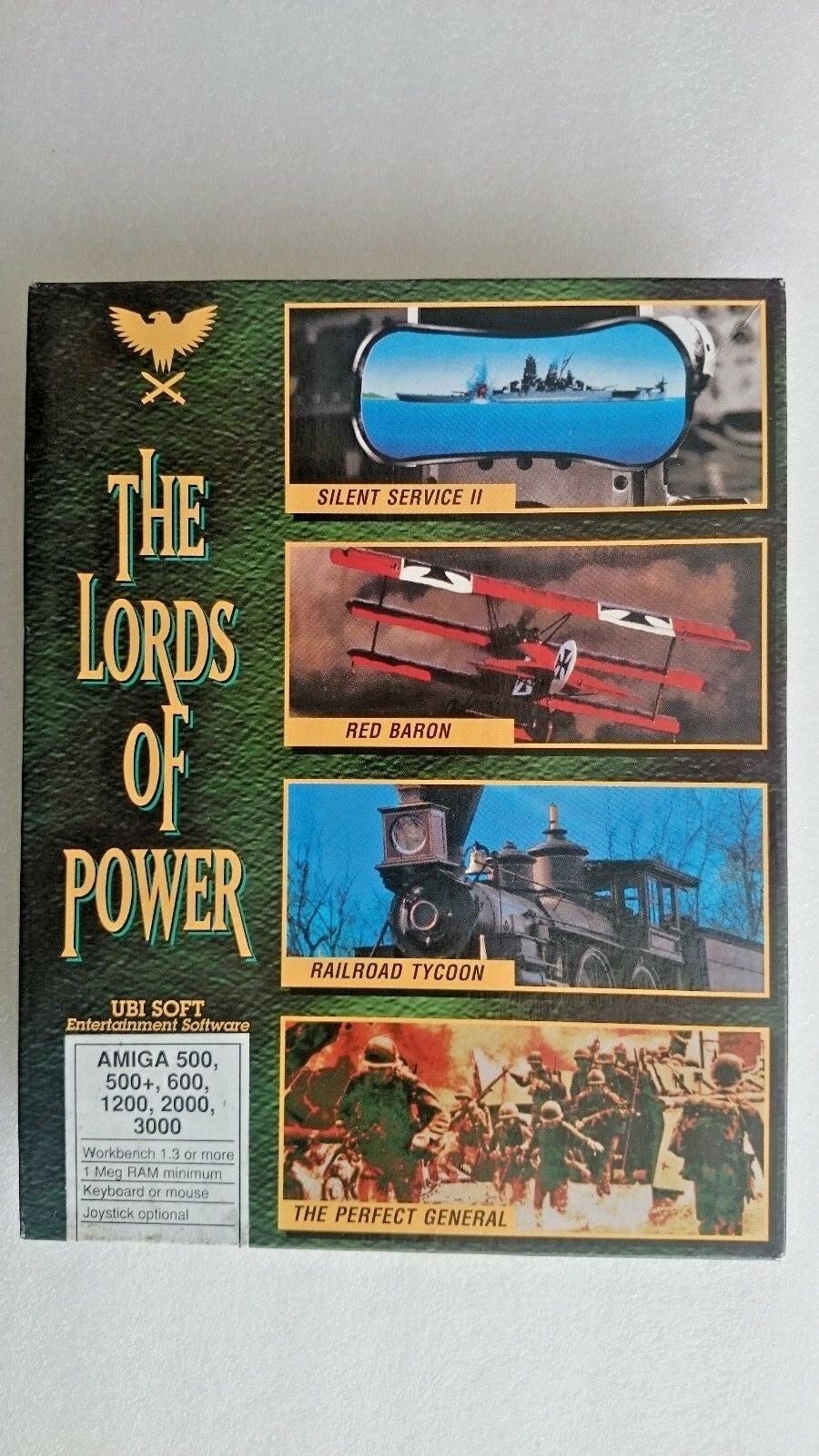 The Lords of Power Commodore Amiga Games - Big Box Edition