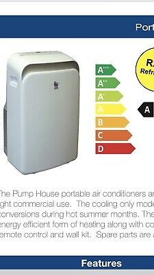 Little Giant Portable Air Conditioning Large Capacity 12000Btu. UK Seller.