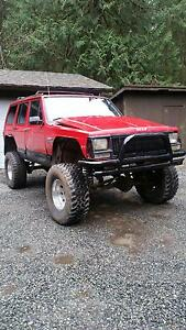 "1993 Jeep Cherokee Sport 8"" lift"