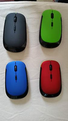 Souris Sans Fil Ultra Plate Onglet Usb Haute Qualité 2,4 Ghz WIN 7 8 10 XP VISTA