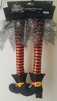 NIP Car Witch Legs Skirt Halloween Decoration Spooky Decor Out of Trunk Car - Halloween Trunk Decorations