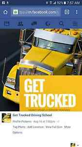 Get Trucked Driving School. Specialising in HR crashbox Helensburgh Wollongong Area Preview