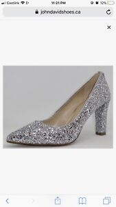 Micheal Kors Sparkly Pumps (BRAND NEW) 115$ OBO