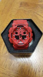GSHOCK 5081 RED - GOOD AS NEW Mascot Rockdale Area Preview