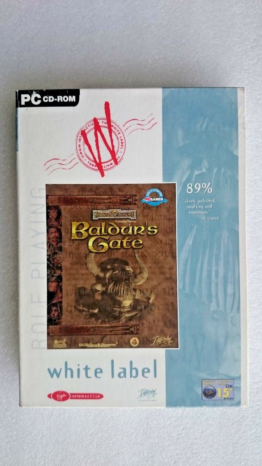 Baldur's Gate  PC Game Boxed Edition