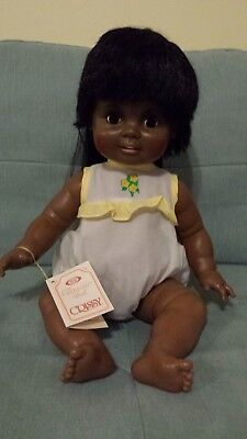 """24"""" Beautiful African American Black Baby Crissy Doll 1981 with box"""