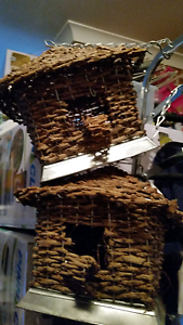 Bird House-rustic . hangs with chain & hook. $12.00 Wallsend Newcastle Area Preview