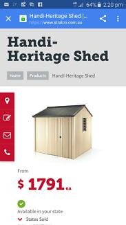 Heritage Garden shed