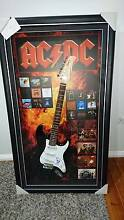 Acdc Angus yung signed electric guitar Killarney Vale Wyong Area Preview