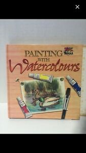 Painting with watercolours instructional book