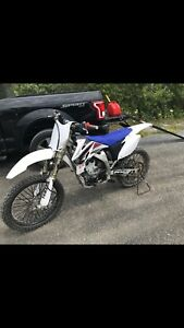 Mint condition Yamaha yz250f