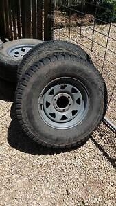 4x4 6 stud wheels off Mitsubishi Triton 16 inch Owen Wakefield Area Preview