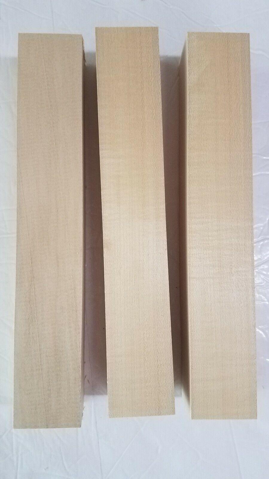 "2"" x 2"" x 12"" Basswood Carving Wood Blocks Craft Lumber *KIL"