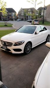 2015 Mercedes Benz C400 fully loaded