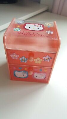 Hello Kitty Rare Vintage Mini Drawers