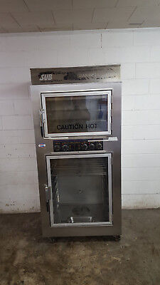 Nu-vu Sub-123 Proofer Oven Combo Tested 240v Bread Baking Center