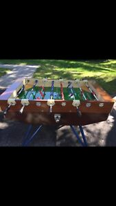 Italian FESNA Coin Operated Fusball Soccer Table For Sale