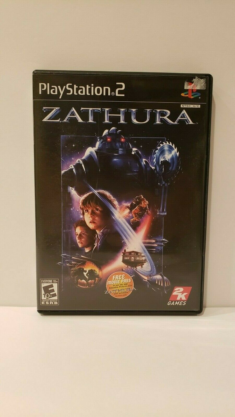 Zathura (Sony PlayStation 2, 2005) - Complete With Unused Movie Ticket - Tested