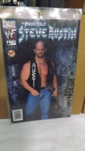 Chaos! Comics WWF Stone Cold Steve Austin # 1 Comic  Official Licensed Product