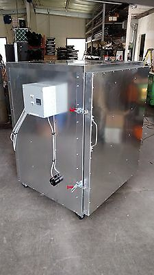 Batch Powder Coat Electric Curing Oven 3x3x4 Cerakote