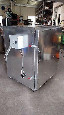 Batch Powder Coat Electric Curing Oven 3x3x4 Cerakote