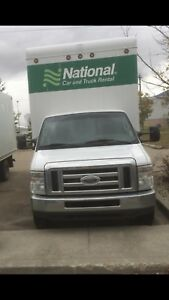 2008 Ford cube truck e450 diesel super duty