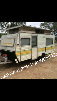 Wanted: Wanted pop top Caravan wanted