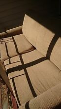 Grey/beige fold out sofa bed Fairfield Brisbane South West Preview