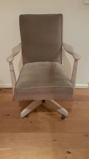 Vintage chair - velvet upholstery