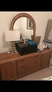 Dresser With Matching Bedside Table $75 OBO