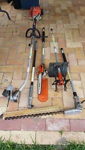 Stihl combi motor +5 attachments Ballajura Swan Area Preview
