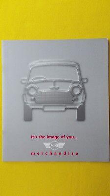 Mini merchandise car brochure sales catalogue Cooper models clothes 1996 MINT