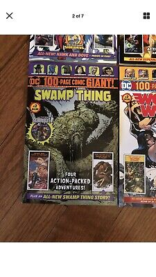 Walmart-DC 100-PAGE Giant  Swamp Thing 1-3-4And Halloween Special](Halloween Collection Walmart)