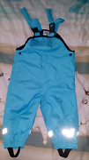 Boys wet weather overalls size 0 Safety Bay Rockingham Area Preview
