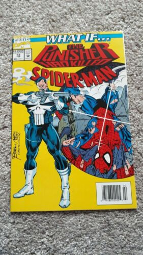 Marvel Comics - What If - No 58 - FEB 1994 - The Punisher had killed Spider-Man