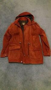 Women's red suede anorak, size small Westmead Parramatta Area Preview