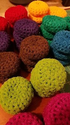 Handmade Crochet 3pk Kitchen Nylon Scrubbies