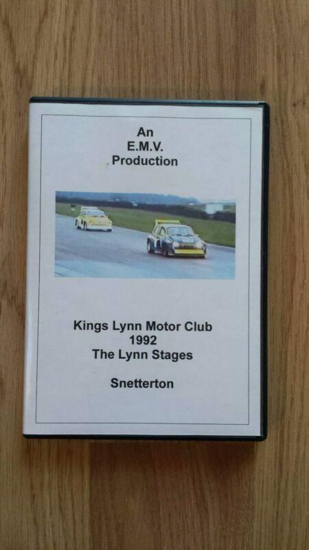 1992+Lynn+Regis+Stages+Rally+DVD+Kings+Lynn+Motor+Club+Snetterton+