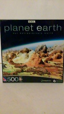 Bbc Planet Earth 500 Piece Jigsaw Puzzle Mountains New Sealed Box