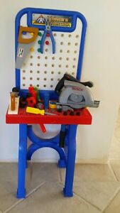 Workshop with Bosch circular saw